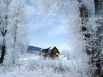 Избушка зимой